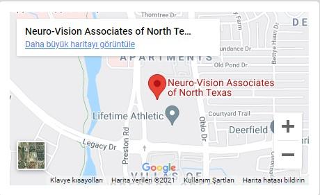 Neuro Vision Location Map