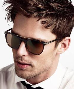 Model wearing Gant sunglasses