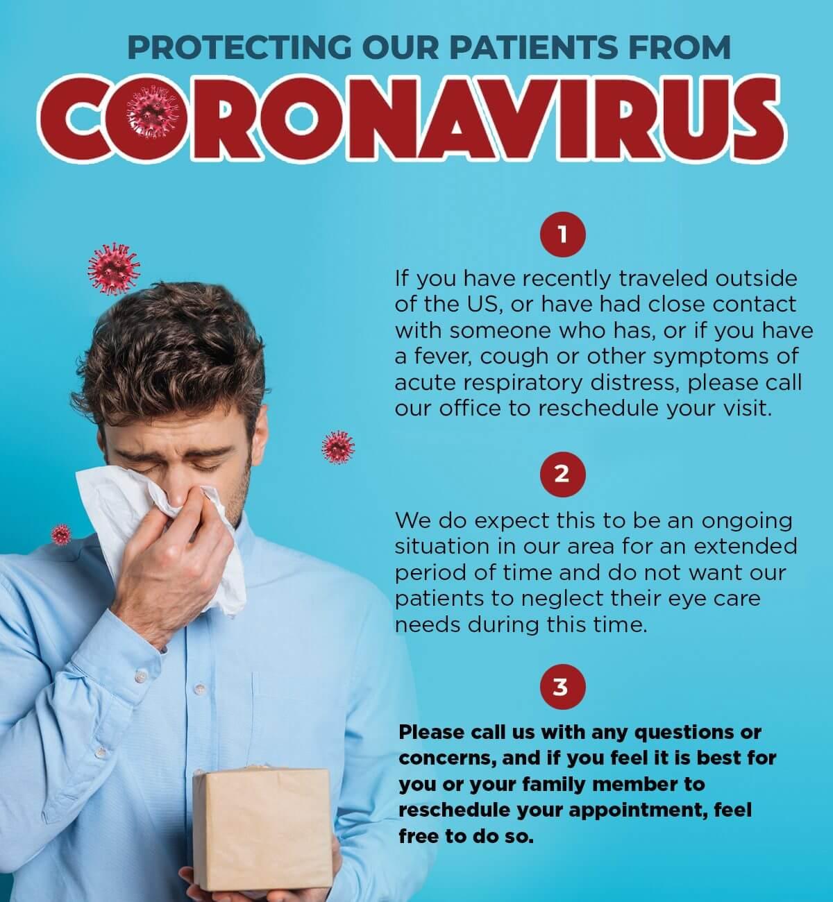 EyeCarePro Coronavirus FB Post 2