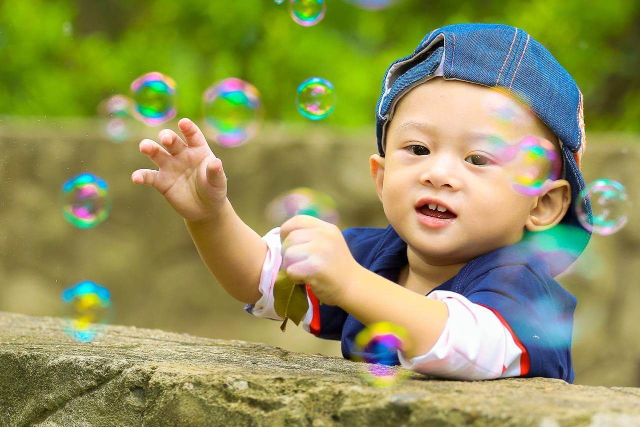 Baby Boy Playing with Bubbles 1280×853 (1)