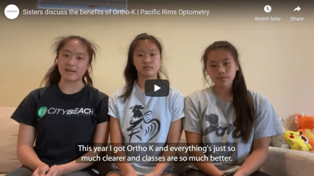 Screenshot 2020 07 23 Sisters discuss the benefits of Ortho K Pacific Rims Optometry