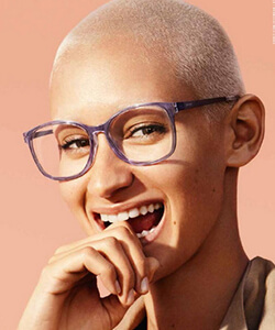 Model wearing Esprit sunglasses