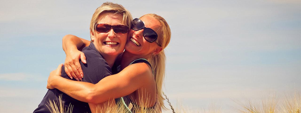 Hugging-Wearing-Sunglasses