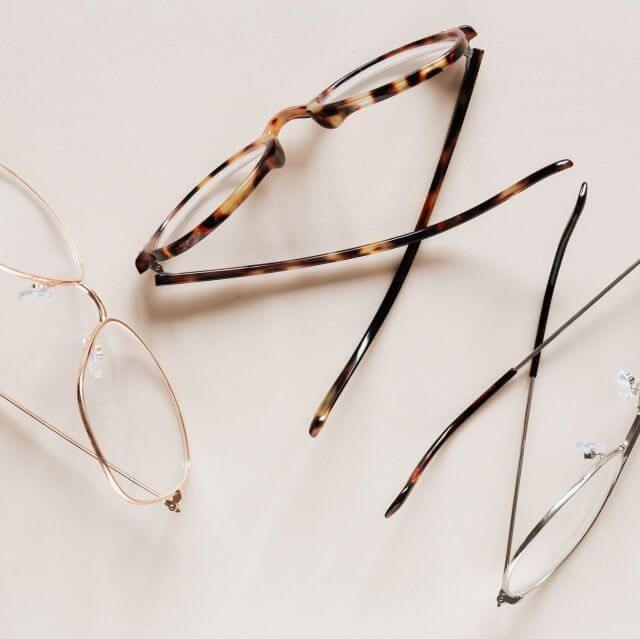 3 pairs still life eyeglasses 640