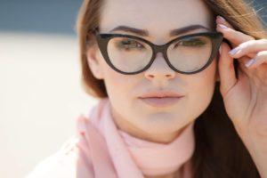 Eye focus on glasses in Kyle, TX