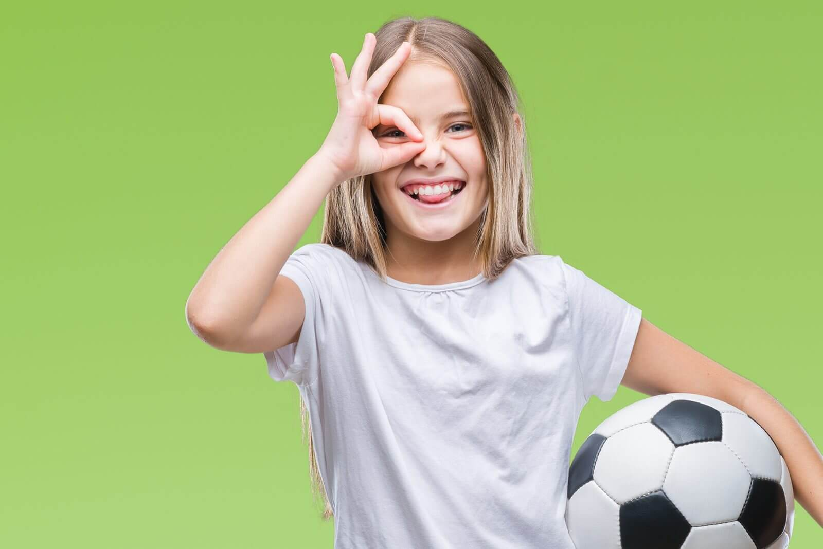 girl with soccer ball 1