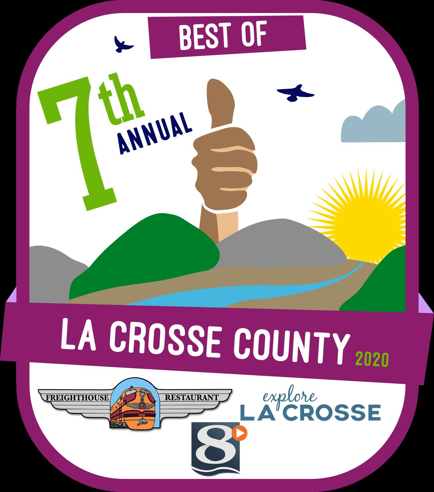 Best of La Crosse County Badge 2020