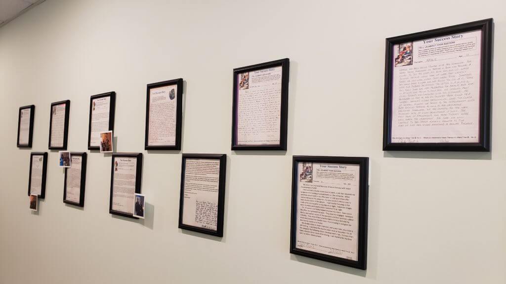 success stories wall