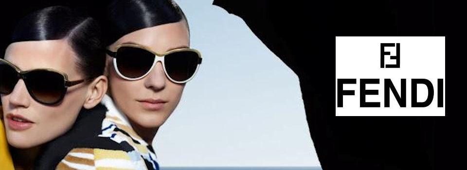 Woman Wearing Fendi Designer Eyeglass Frames
