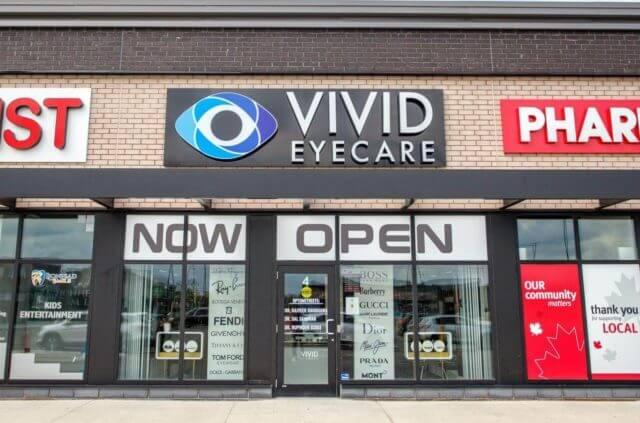 eye care clinic in Brampton, Ontario