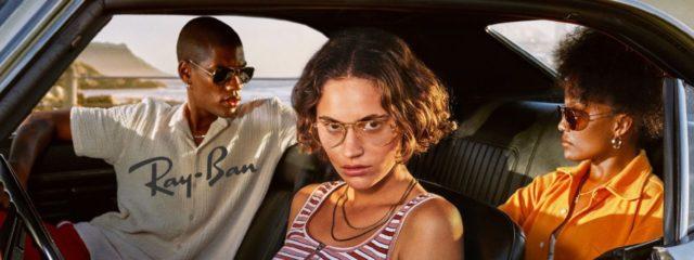 Family Wearing Ray-Ban Designer Eyeglasses