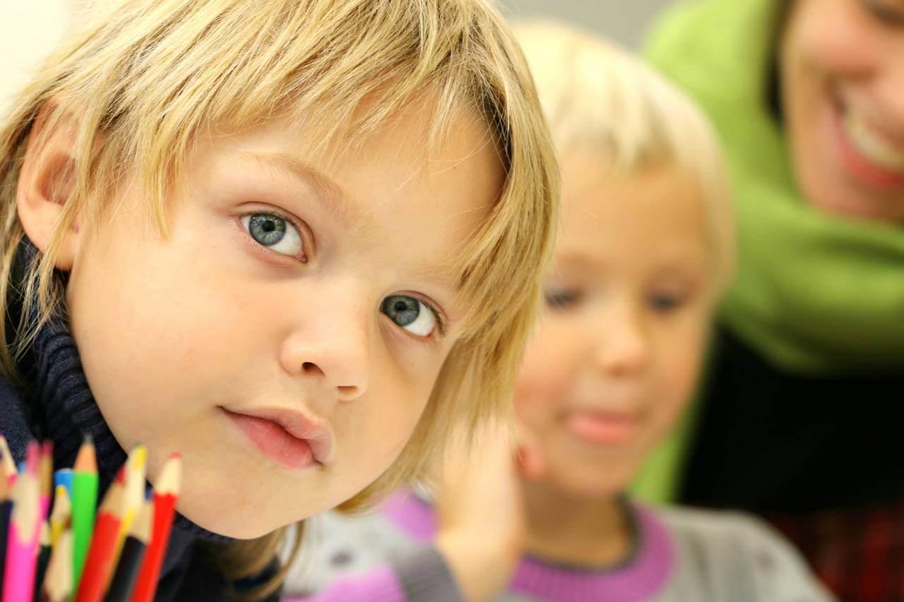 Child Serious Preschool 1280×853