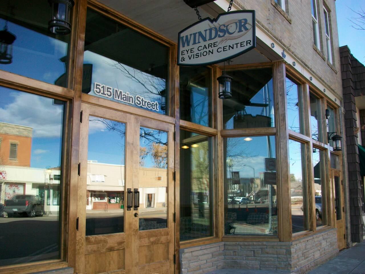 outside windsor eye care & vision center