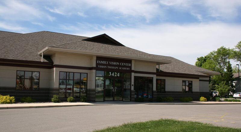 Outside Family Vision Center, La Crosse