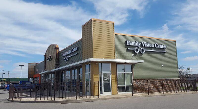 Outside Vision Center, Tomah