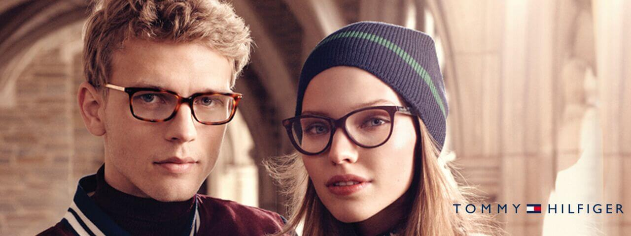 Family Wearing Tommy Hilfiger Designer Eyeglass Frames