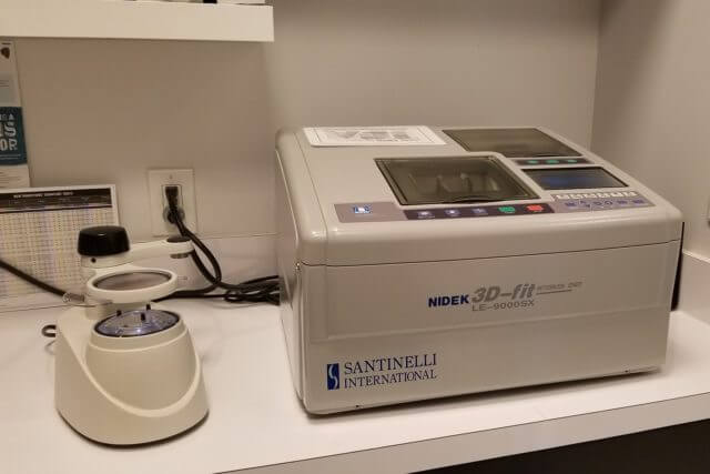 In-house eyeglass lab