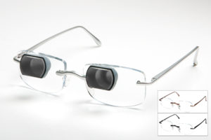 Bioptic Telescopic Glasses recommended by our low vision specialist