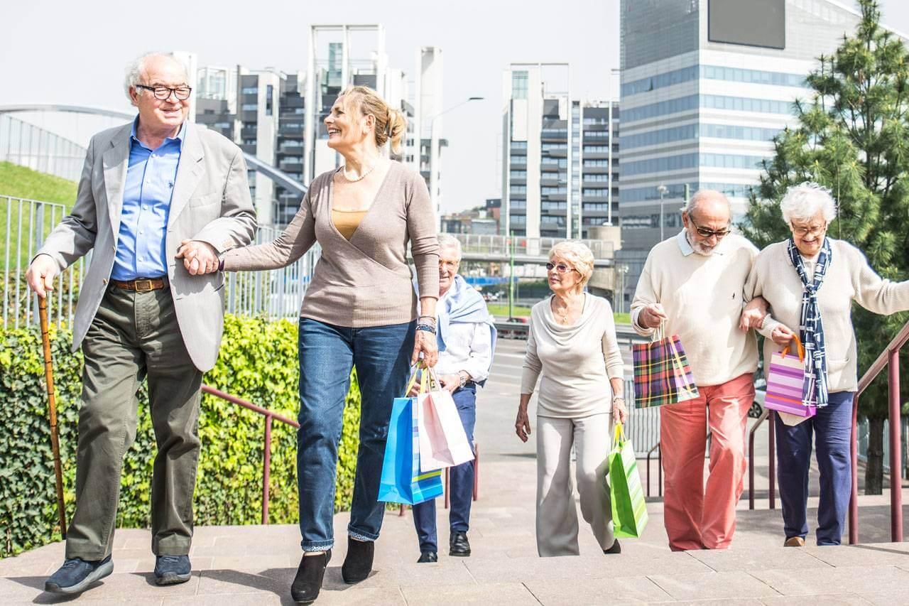 Group of Seniors Walking 1280×853