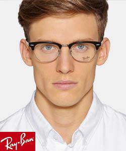 Man wearing Rayban Eyewear