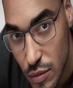 Man wearing Silhouette Eyewear