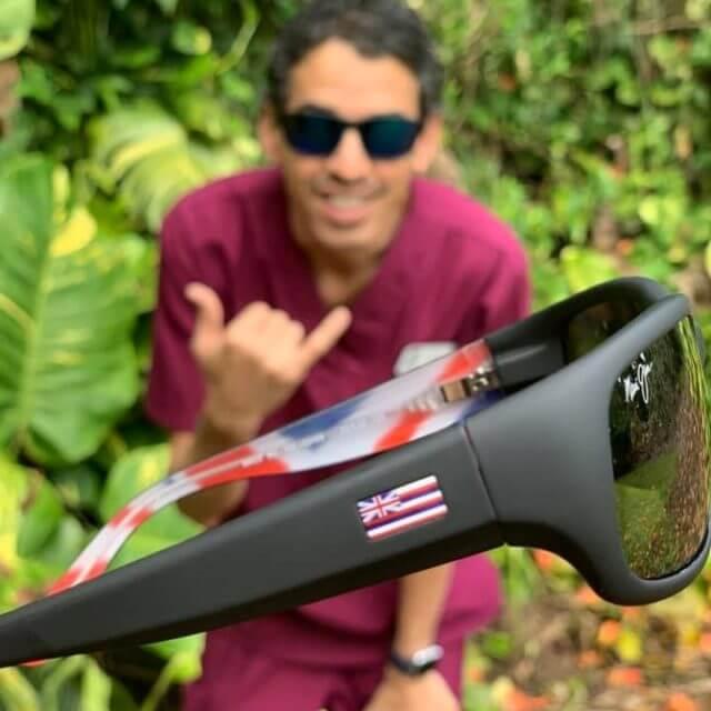 Maui Jim sunglasses crop