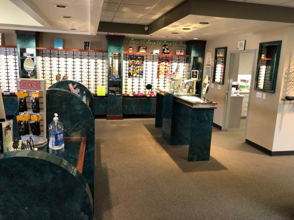 Optical Displays outside Lab Area
