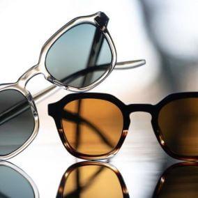 BARTON PERREIRA sunglasses clear amber 284px