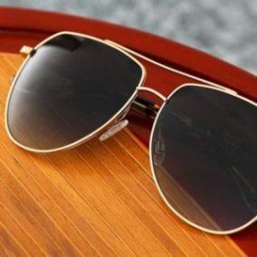 BARTON PERREIRA sunglasses gold red 2020