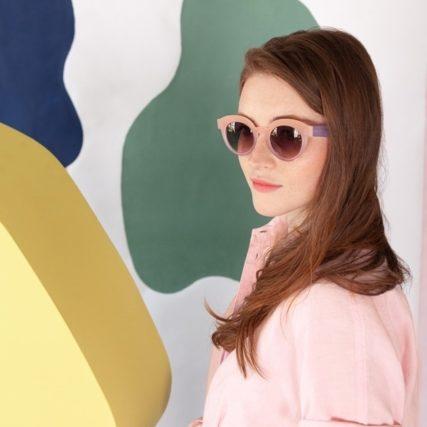 anne et valentin sunglasses woman pink 640px