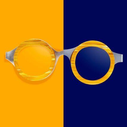theo eyeglasses orange and blue 640px
