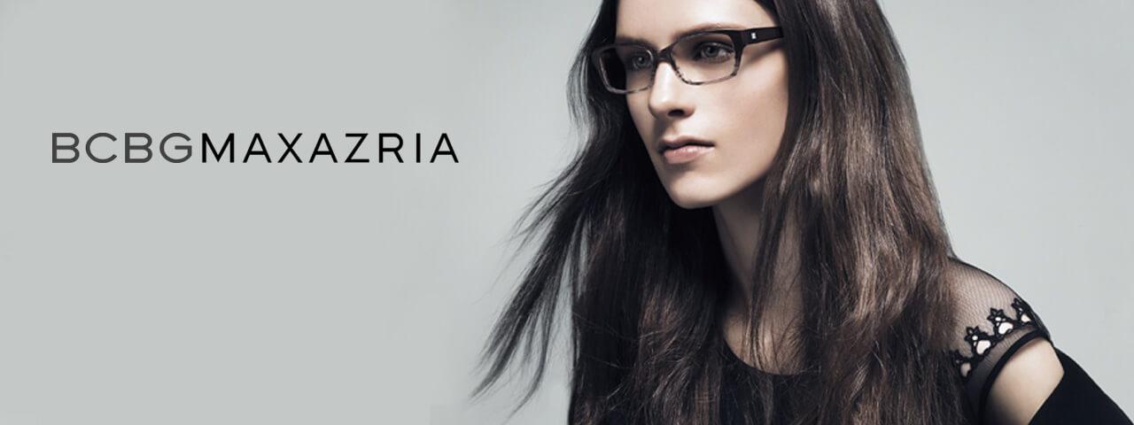 Woman Wearing BCBG Designer Eyeglass Frames