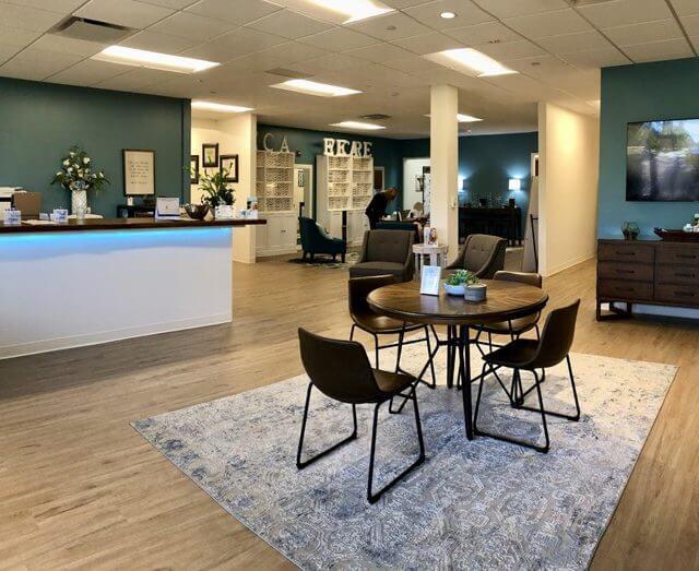 Lobby Dry Eye Center Alabama