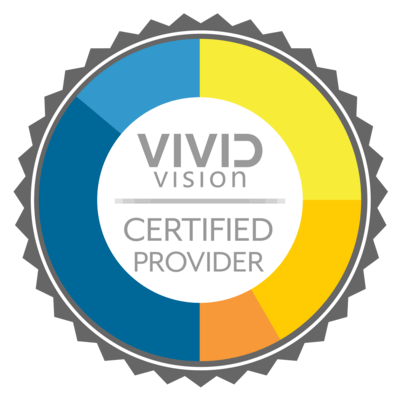 certified vision provider badge