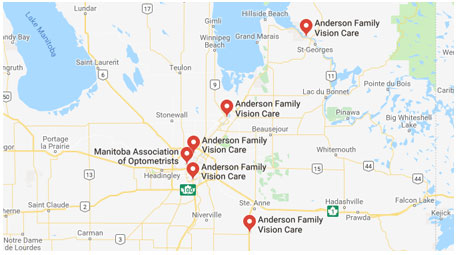 Anderson eye care locations