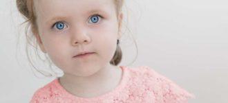 eyes of a little girl