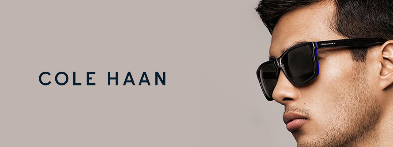 Man Wearing Cole Haan Designer Eyeglass Frames
