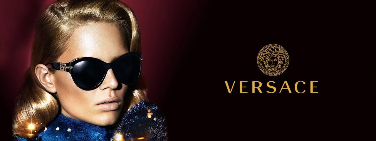 Family Wearing Versace Designer Eyeglass Frames