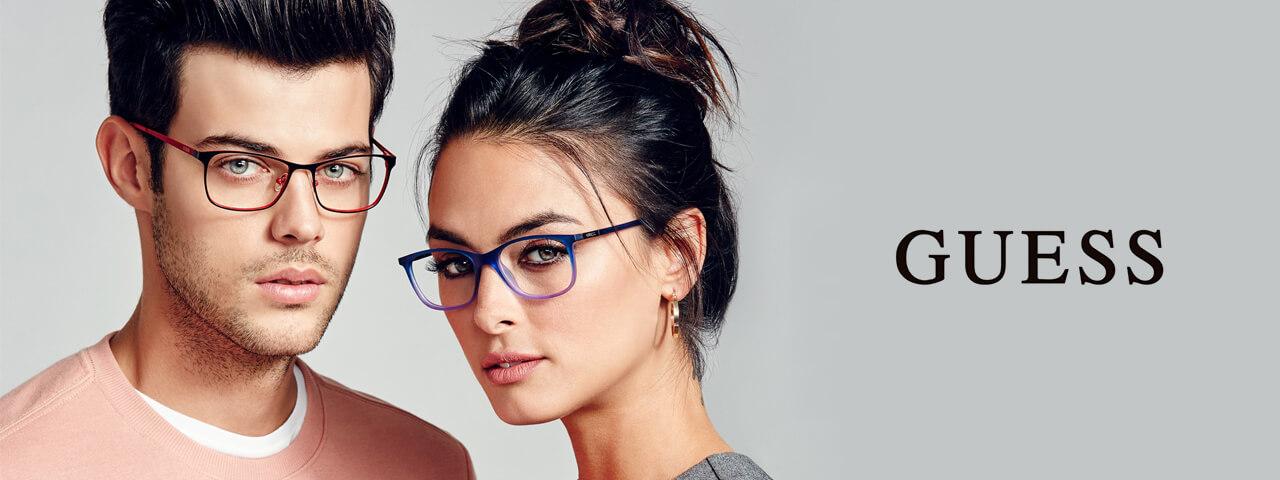Family Wearing Guess Designer Eyeglass Frames