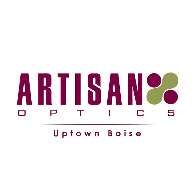 artisan eyewear collection logo wht