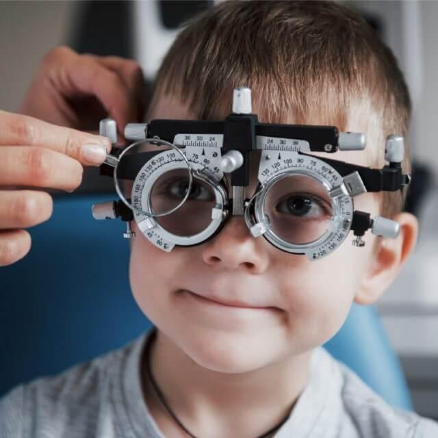 eye care services pediatric