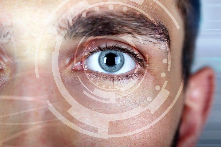 eye technology man