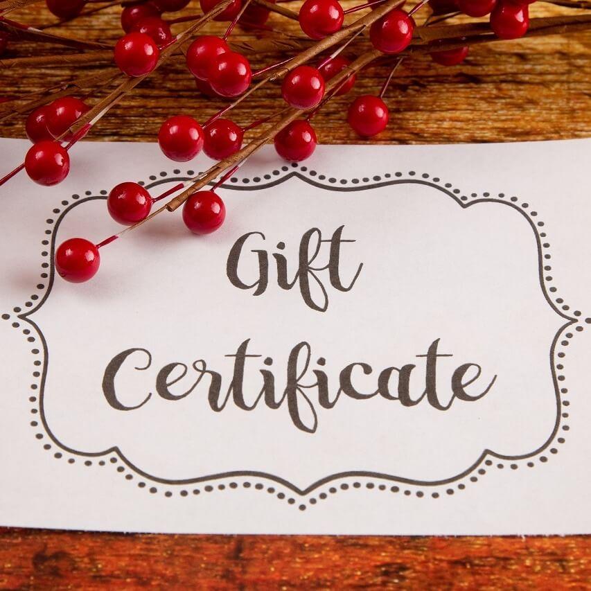 Gift Certificate sq