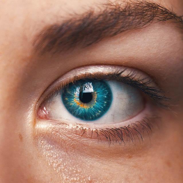 Eye Close Up Green