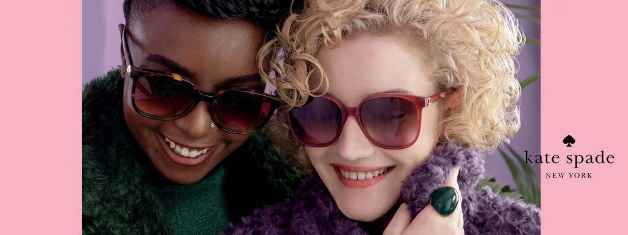Family Wearing Kate Spade Designer Eyeglass Frames