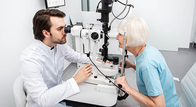 eye exam Peoria
