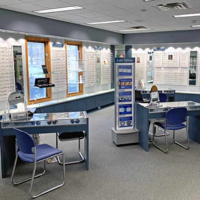 our eye care center