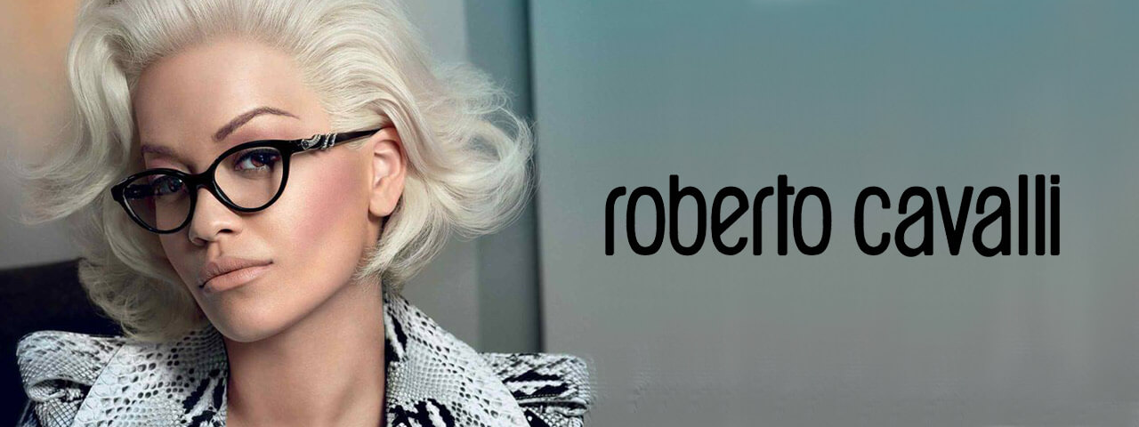 Family Wearing Roberto Cavalli Designer Eyeglass Frames