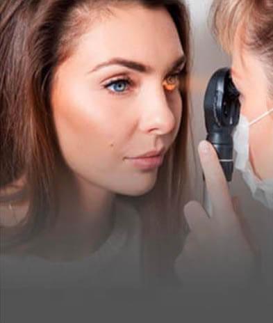 callout contact lens exam