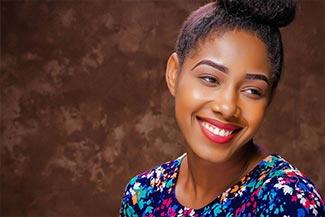 Young Woman Smiling Thumbnail